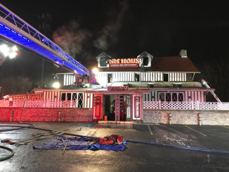 Fire At Korean Restaurant On Route 40 Under Investigation 0