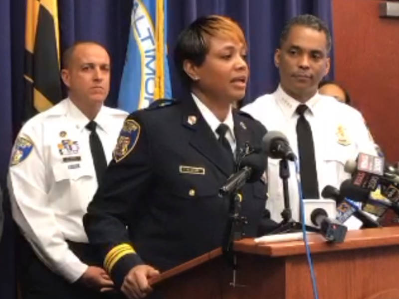 New baltimore police command structure marks many firsts for Major motors baltimore maryland