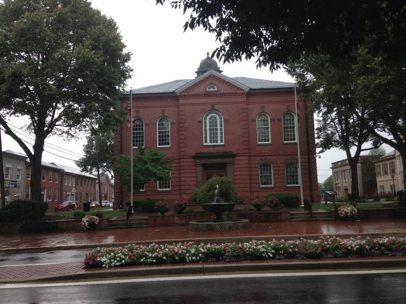 Bomb Threat Received At Harford Courthouse Police Bel