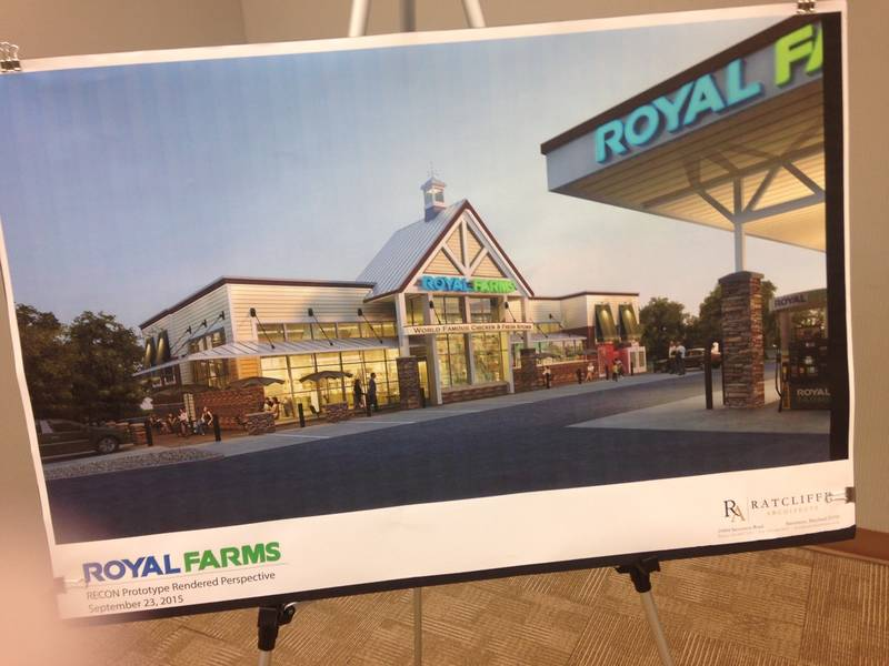 Royal farms proposed on box hill south parkway bel air for Royal family motors canton