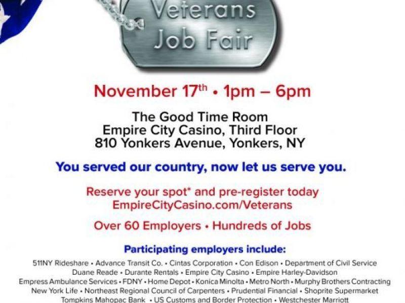 Hire A Dobbs Ferry Hero Veterans Job Fair Nov 17