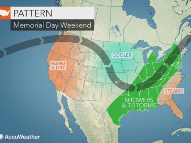Memorial Day Weekend Forecast Changes Port Chesters Weather