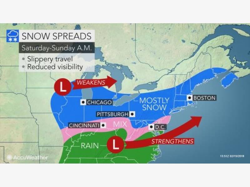 Winter Storm Watch New Rochelles Weekend Weather New Rochelle