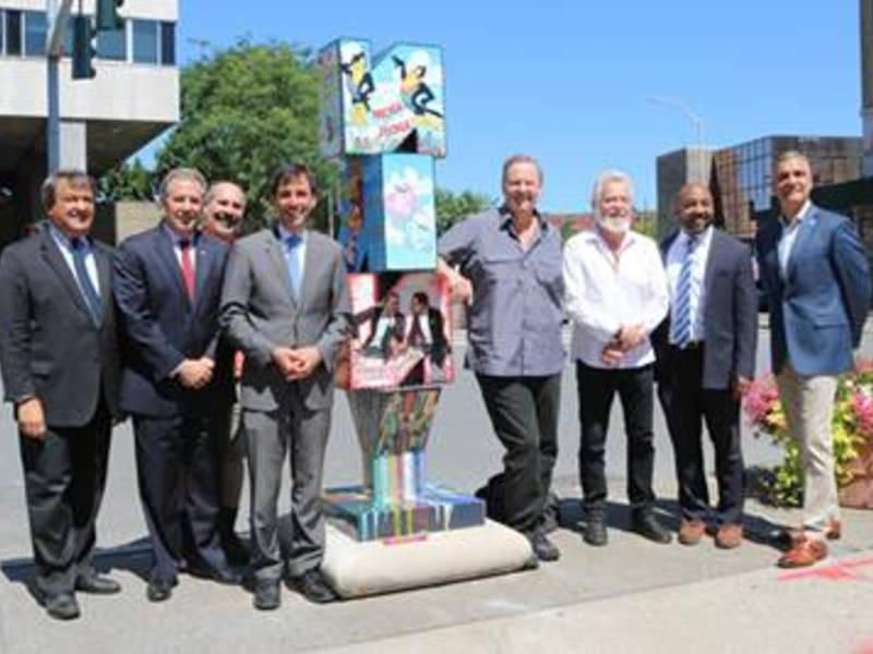 Original sculptures unveiled in downtown new rochelle new rochelle original sculptures unveiled in downtown new rochelle malvernweather Choice Image