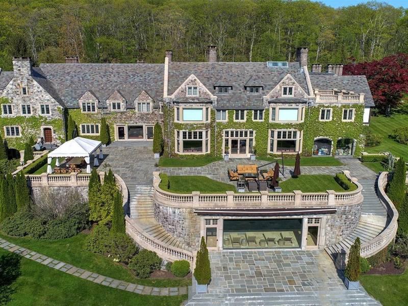 Scottish-Style Castle On 200-Acre Hudson Valley Estate