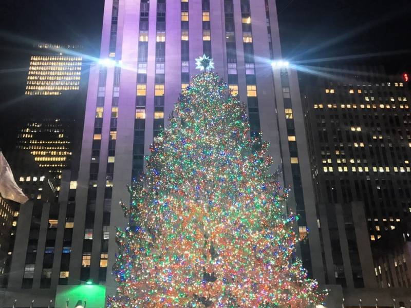 rockefeller christmas tree from hudson valley - Tree Christmas