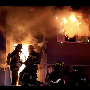 Two Firefighters Hospitalized After Suffolk County House Fire