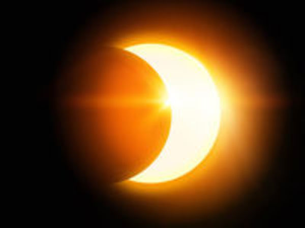 Solar Eclipse  Time On Long Island