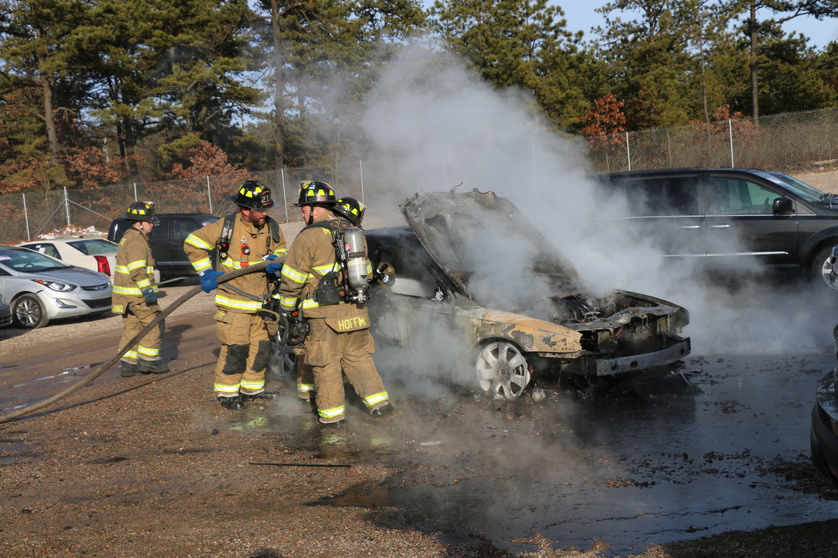 Car Catches Fire In Medford Patch