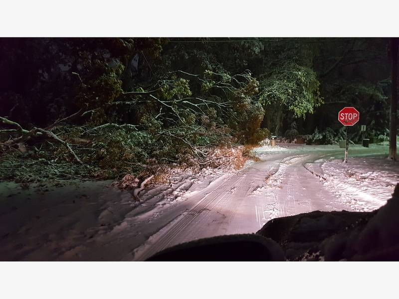Snow Clobbers Long Island; 8,000 Power Outages​: Patch PM