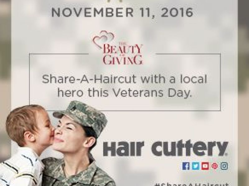 Framingham Hair Cuttery Donates Haircuts To Veterans In Honor Of