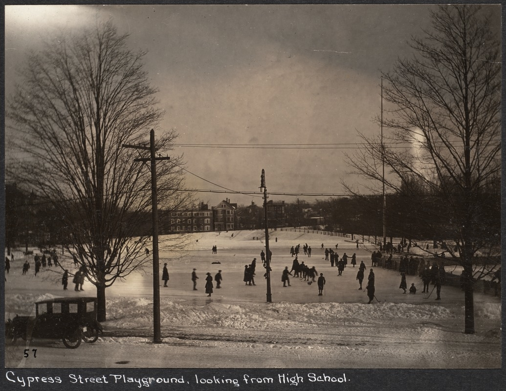 BROOKLINE HISTORY: Ice Skating at Brookline Parks & Playgrounds ...