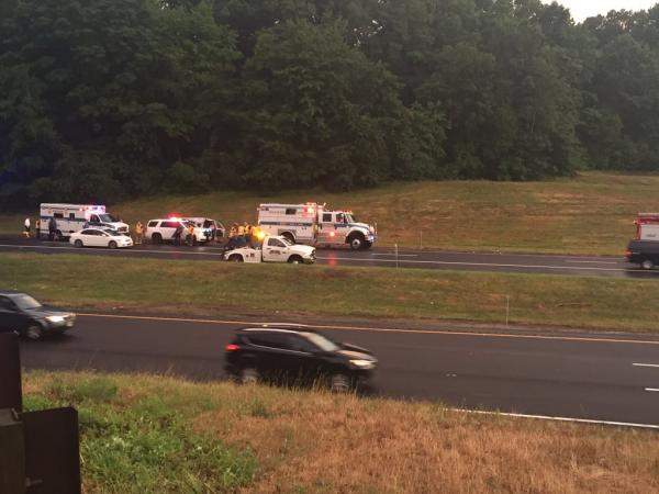Details revealed in garden state parkway van crash that killed 2 injured 12 holmdel nj patch for Garden state parkway south accident