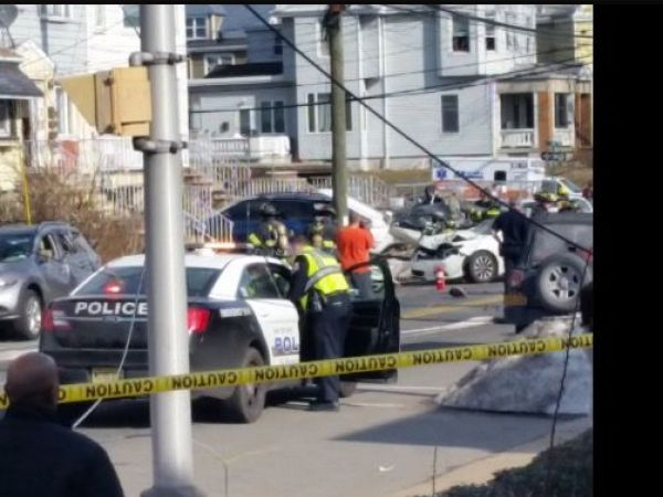 Small plane crashes in Bayonne, officials say