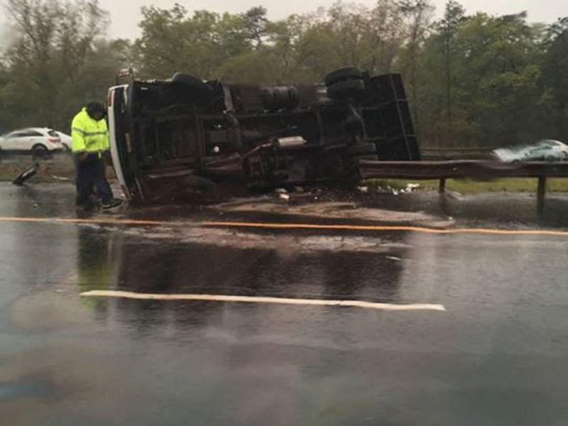 Ocean county driver dies in garden state parkway crash on mother 39 s day weekend brick nj patch for Garden state parkway accident reports
