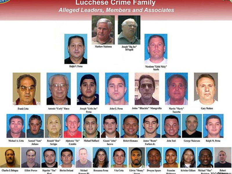 New jersey men indicted in large scale mob murder bust - Garden state healthcare associates ...