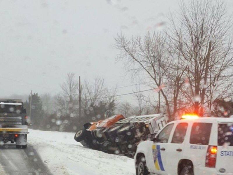 Nj Noreaster Latest Snow Estimates Winter Weather Advisory