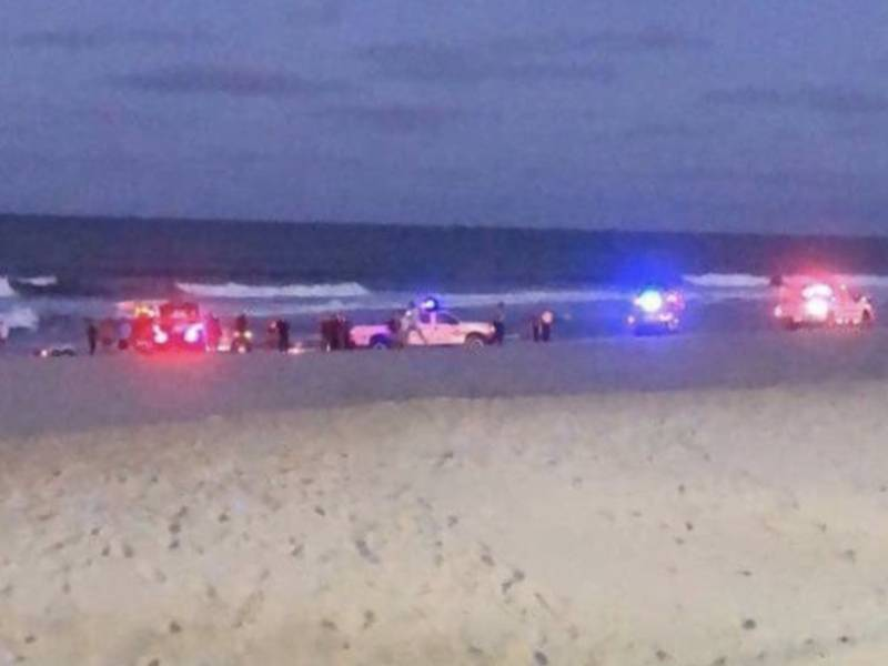 man who drowned on seaside beach with family nearby id d update