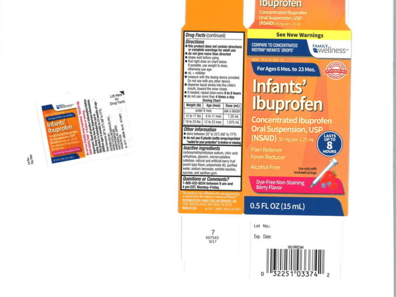 infant ibuprofen sold in nj walmart  cvs stores is recalled