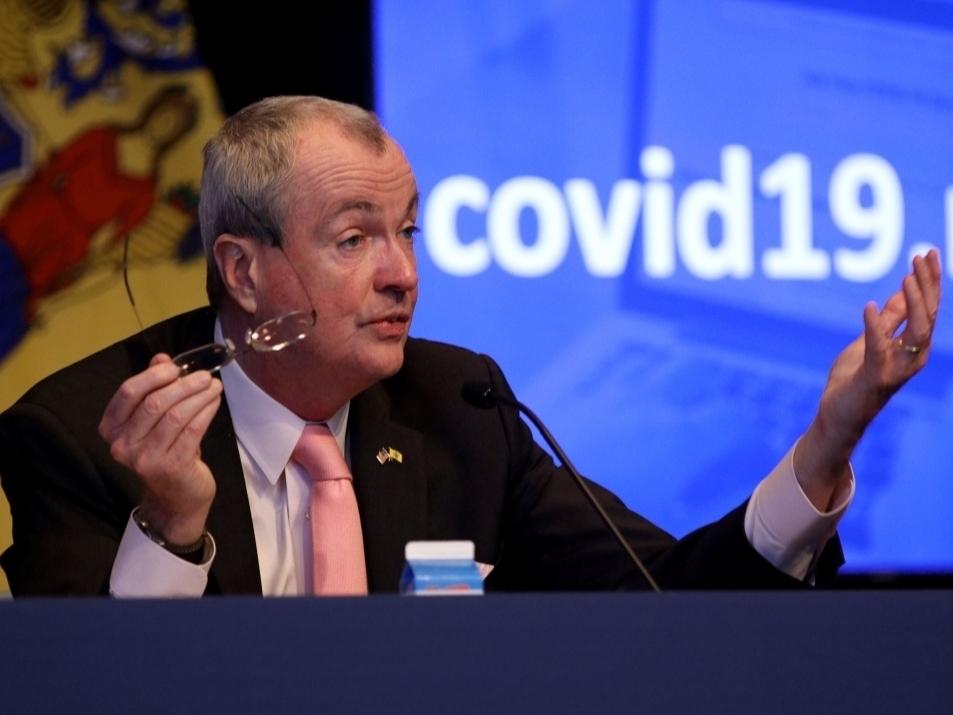 WATCH LIVE: Gov. Murphy Issues NJ Coronavirus, Closures Updates
