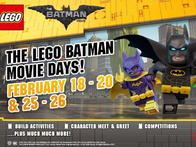 Legoland® Discovery Center Michigan To Celebrate The Lego® Batman ...