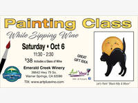 Temecula ca patch breaking local news events schools for Paint and wine temecula