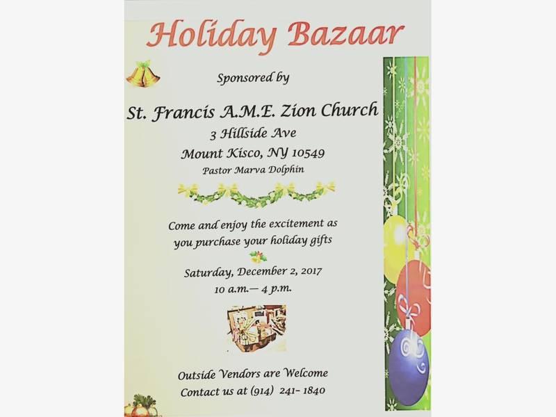 Mt kisco church hosts holiday bazaar gospel concert chappaqua mt kisco church hosts holiday bazaar gospel concert stopboris Images