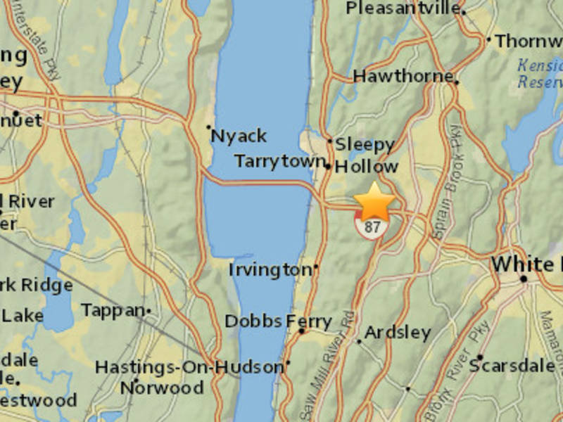 Earthquake Tracked Under Westchester County