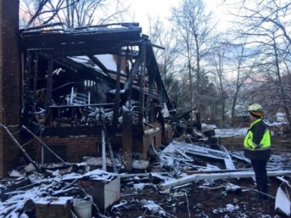 1 missing after Rockville blaze destroys home