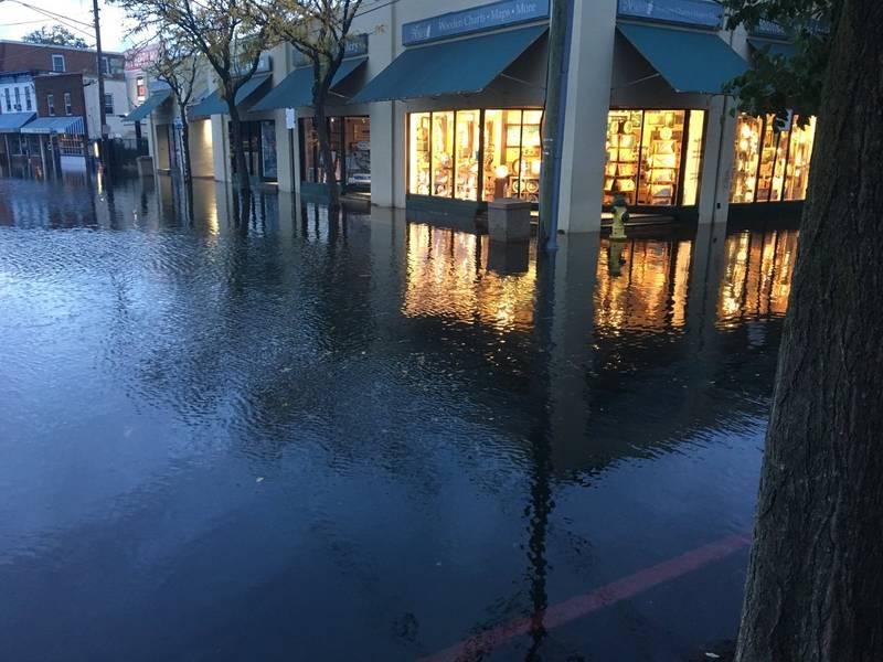 2 Annapolis Streets Flooded Tuesday; Flood Advisory Until ...
