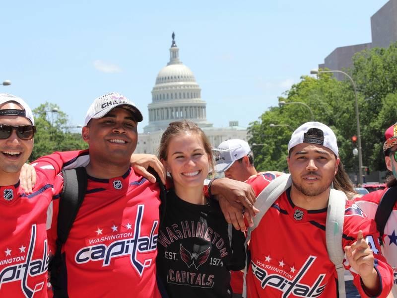 9636c67e3cc Highlights From Washington Capitals Victory Parade