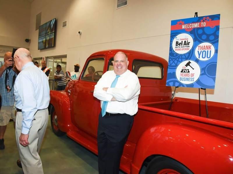 Belair Auto Auction >> Gov Hogan Tours Bel Air Auto Auction Bel Air Md Patch