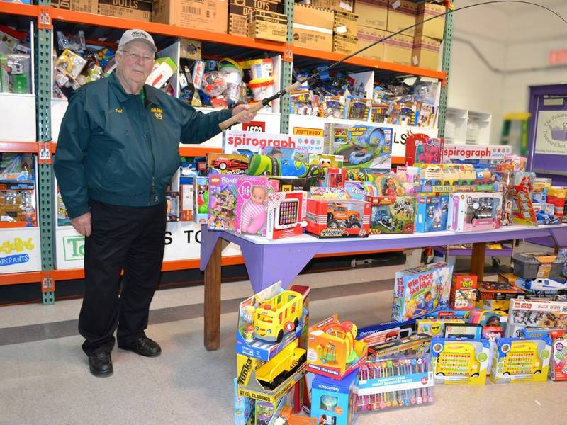 Fish Tales Fishing Club Nets Huge Catch of Toys and Gift Cards