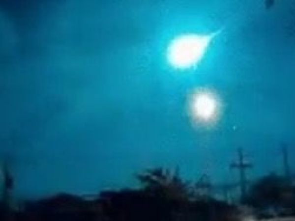 Fireball caught on camera streaking across sky