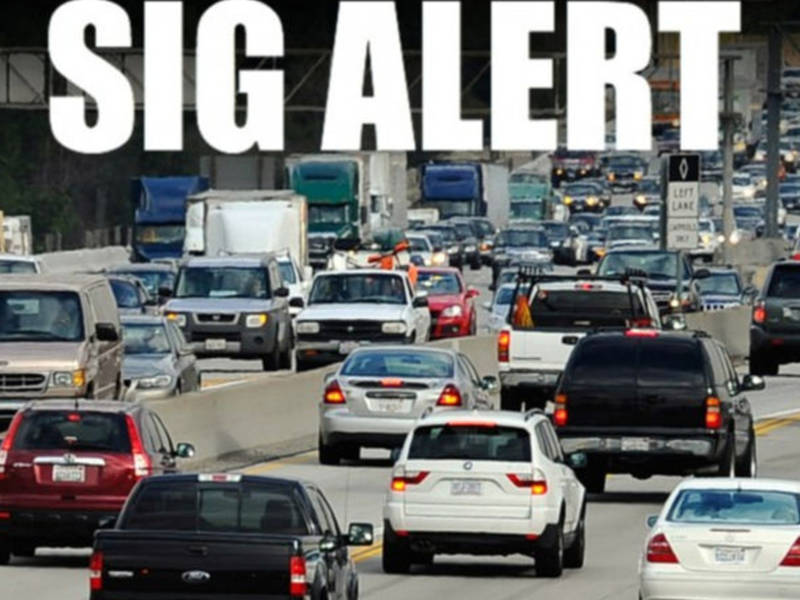 Sigalert Issued For 5 Freeway In Sun Valley