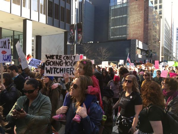 Watch It Again: Chicago Women's March Draws 250K