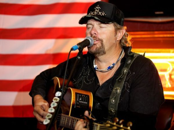 Image result for toby keith too political