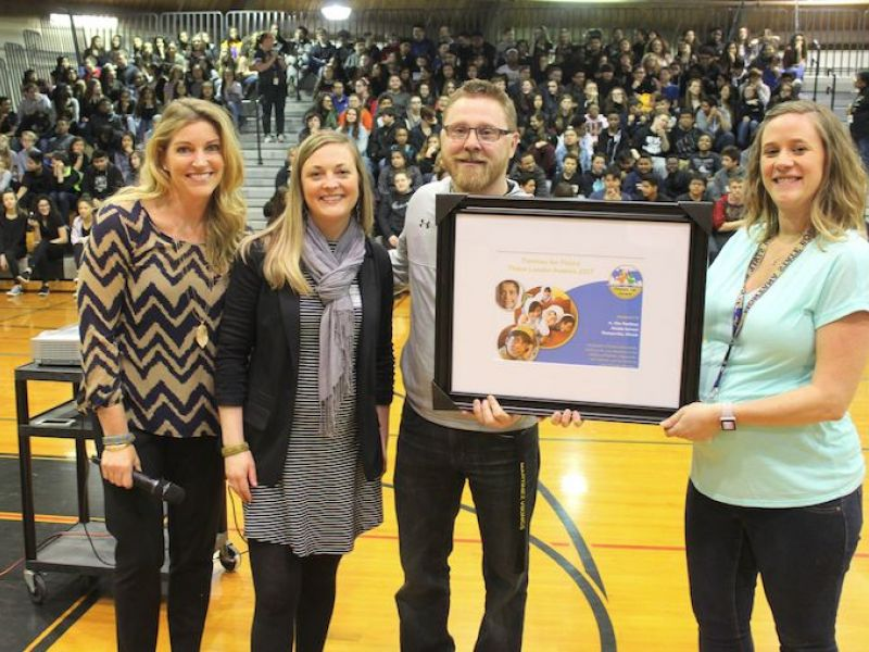 Romeoville School Wins Prestigious Pennies For Peace Award