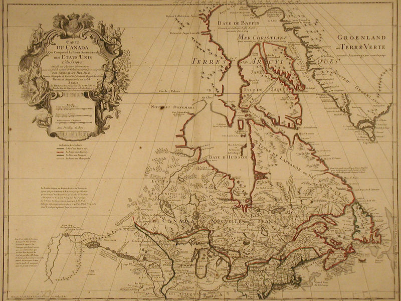 Naperville Man Donates YearOld Map To Museum Naperville IL Patch - Old map of canada