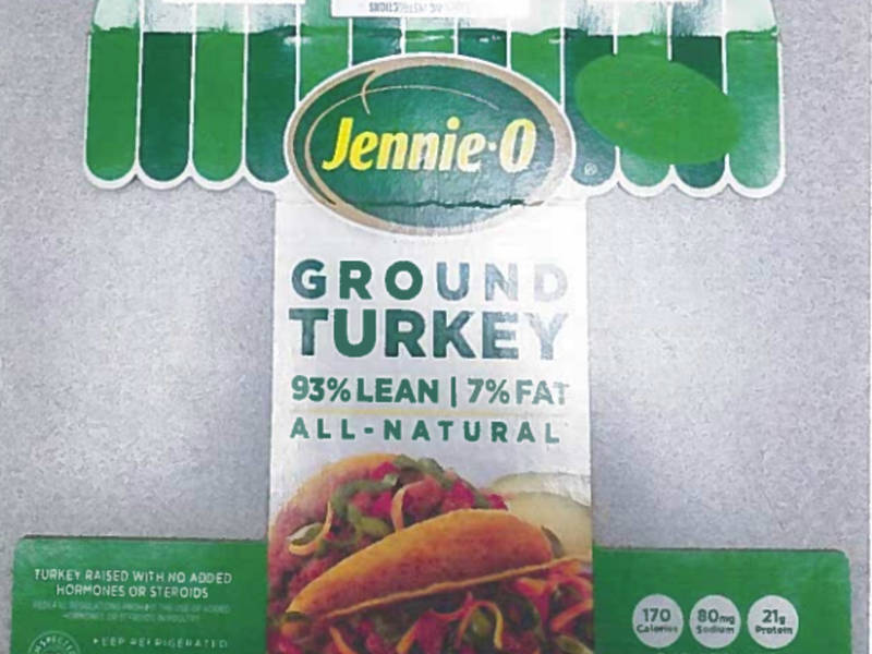 jennie o ground turkey recall salmonella outbreak in 35 states