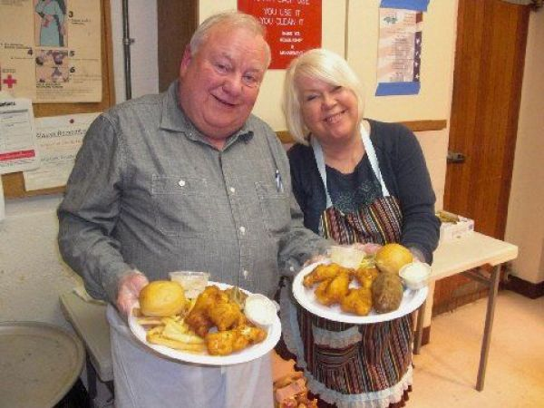 Plymouth vfw post hosts their first lenten fish fry on for Vfw fish fry