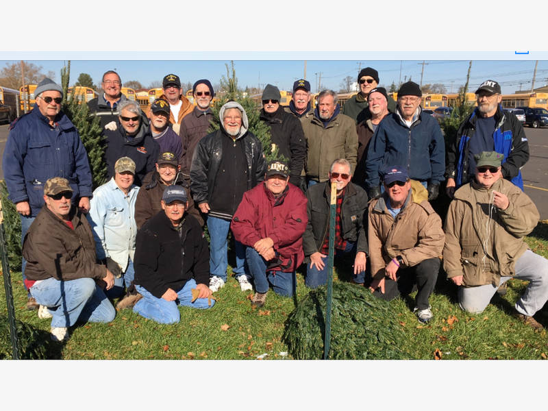 The Plymouth VFW Christmas Tree Farm Is Open For Business