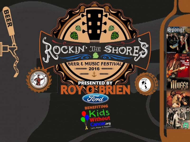 Rockin 39 the shores beer music festival saturday all you for Michigan craft beer festival