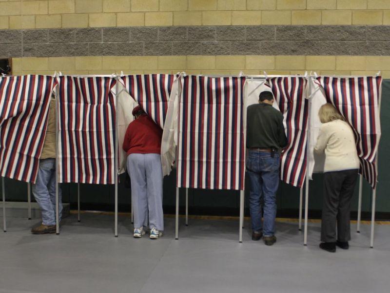 voting machine problems