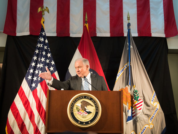 Attorney General Jeff Sessions Speaks On Immigration