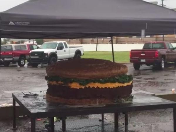 World's Biggest Burger: 5 Juicy Bites About $8,000 Michigan Sandwich