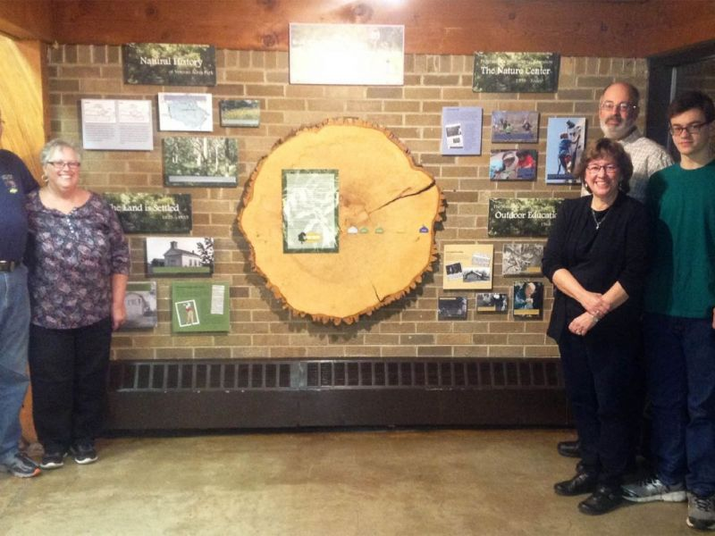 new history exhibit at the crystal lake park district