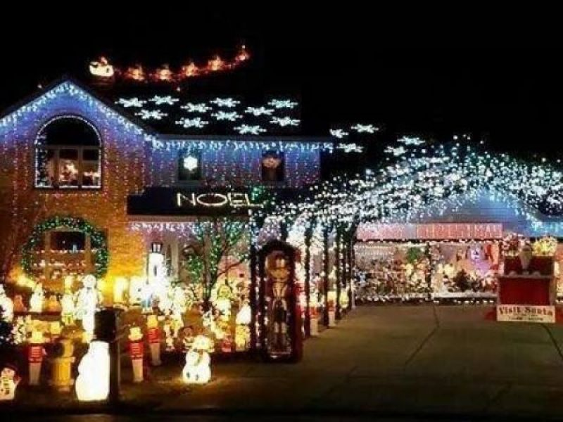 updated best christmas lights displays in the chicago suburbs 2016 - Best Place For Christmas Decorations