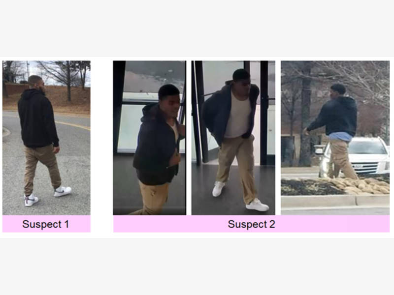 2 suspects sought for jewelry robbery at sam 39 s club for Jewelry stores in gwinnett county ga
