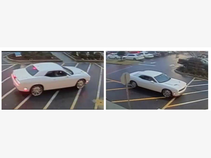 Sudden Pizza Snatching, Gwinnett Police Look For Muscle Car